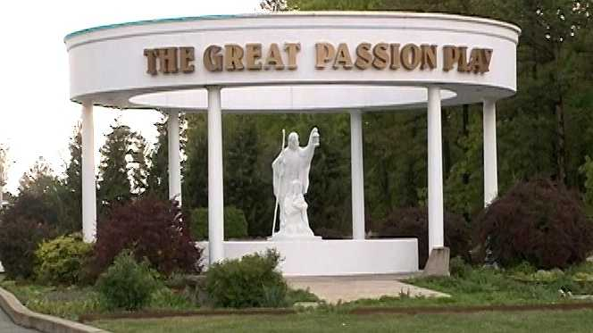 'Great Passion Play' opening night
