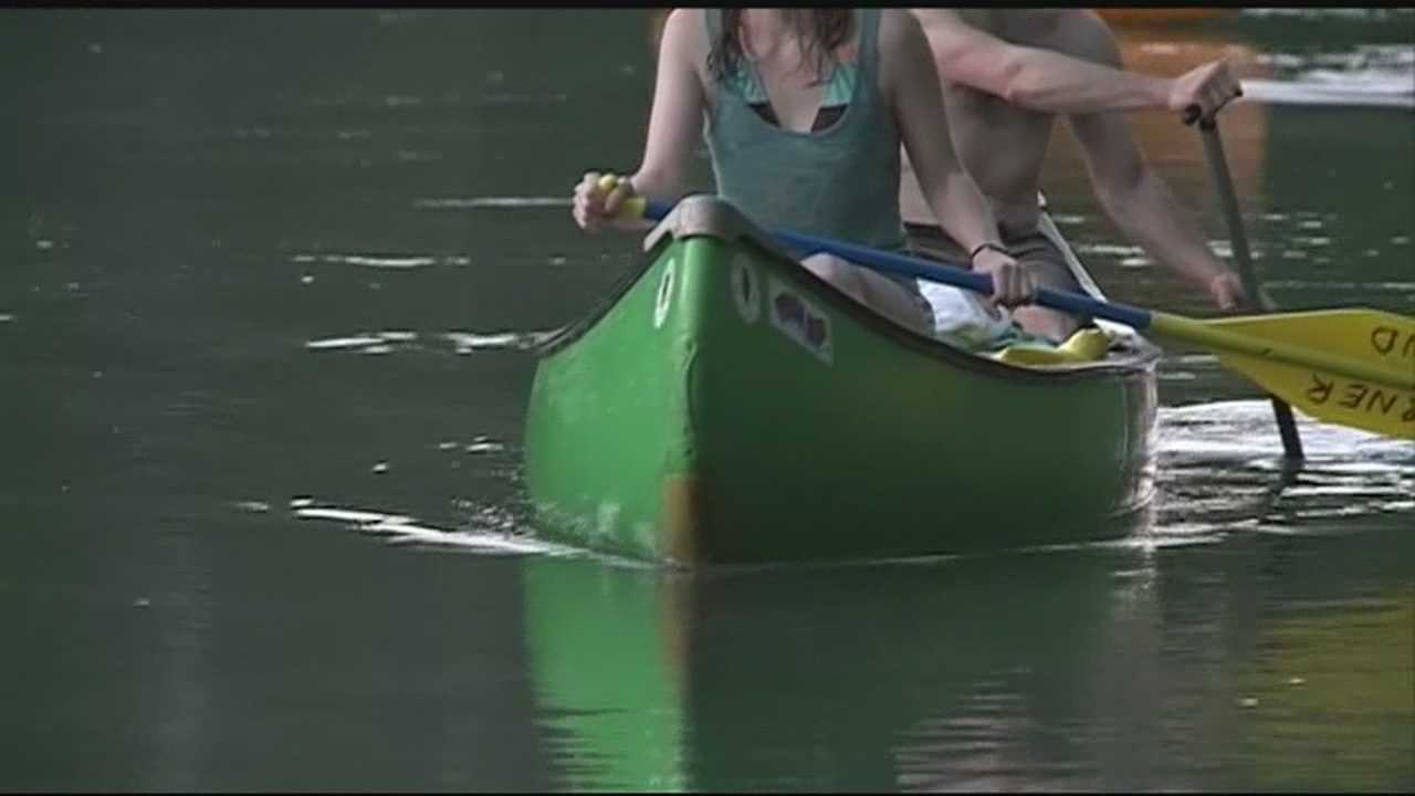 Low river levels hurting business