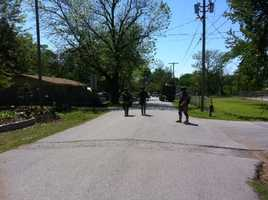 SWAT team in Gravette