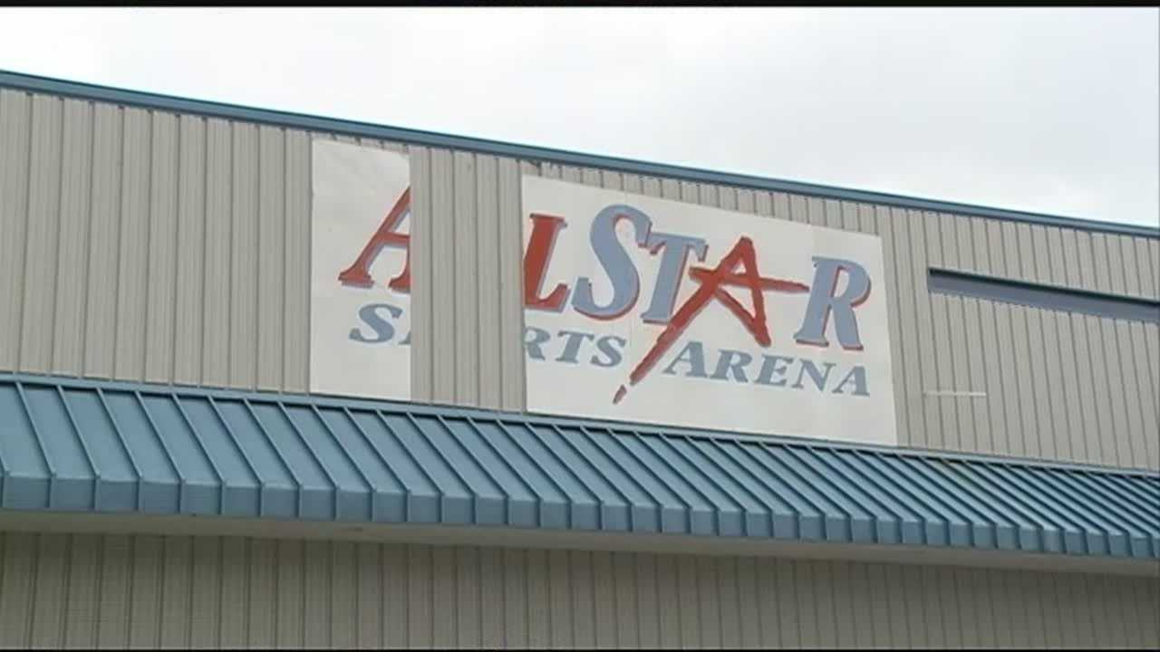 Workers and athletes arrived at a All Star Sports Arena to find the doors locked.