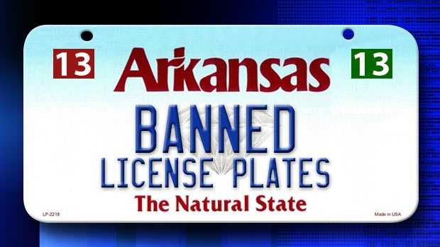 We put together a list of possible license plate combinations that are banned in Arkansas with data from the DMV. We left out combinations that spell profane words and would be rejected, but there are some combinations that might surprise you.