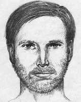 This sketch portrays someone who may have come in contact with Morgan at the ballpark.  He is believed to have been between 23 and 38 at the time of the abduction in 1995.  He could have been around 6 feet tall and about 180 pounds.