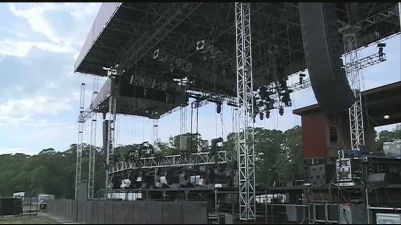 Wakarusa organizers are keeping a close eye on the weather as storms move our way.  Meteorologist Darby Bybee found out how they're keeping fans safe.