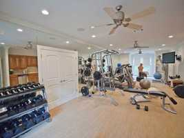 Blow off some steam in the gym without ever having to leave the house.