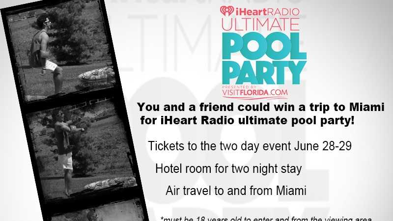 CW Ultimate Pool Party Contest