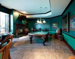 Because every house is made complete with a game room!