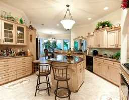 A kitchen-style fit for royalty.