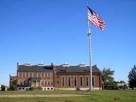 Several evenings a year, the volunteers at the Fort Smith National Historic Site re-enact one of Judge Parker's trials using the actual court transcripts in the actual courtroom.