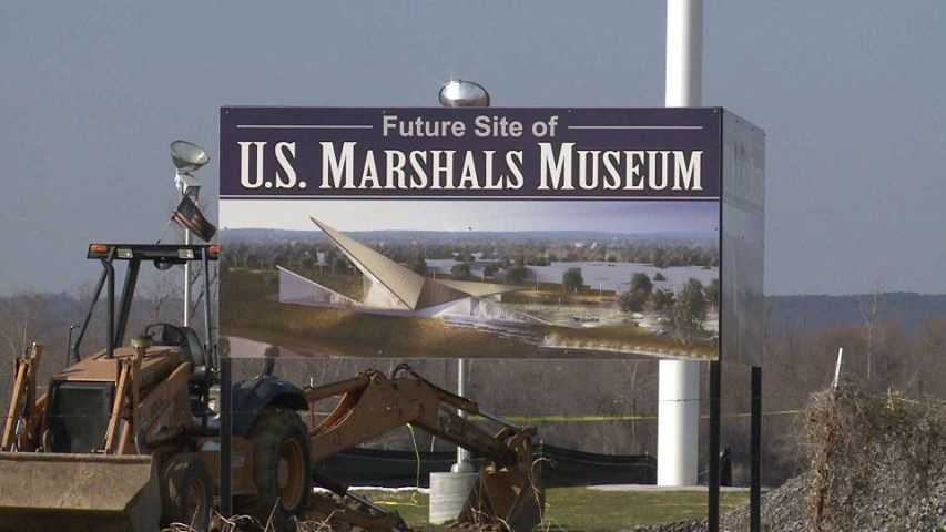 The future site of the national U.S. Marshals Museum is located in Fort Smith. It will honor the entire 220+ year span of the U.S. Marshal history.