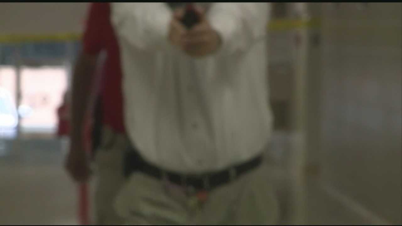 40/29 News was there as Clarksville teachers learned how to handle an active shooter situation.