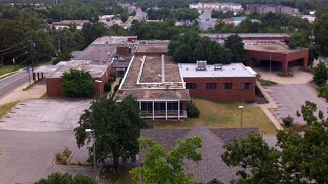 Fayetteville City Hospital site