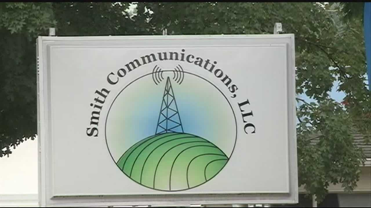 A communications company filed a lawsuit after the Washington County Quorum Court rejected its plan to build a cell phone tower near Prairie Grove.