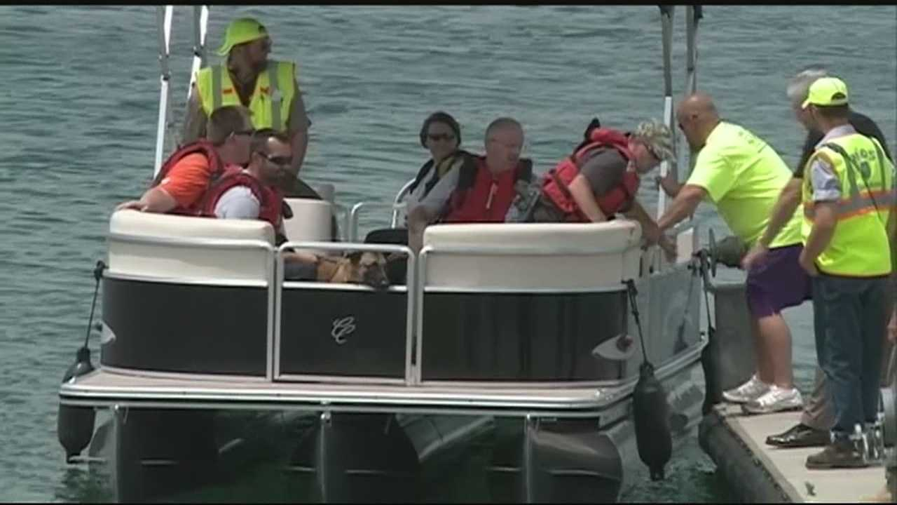 Crews finish day 3 of search for missing diver on Beaver Lake