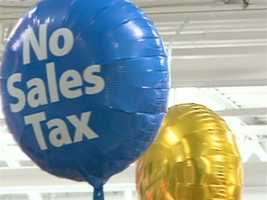 The tax holiday runs from 12:01 a.m. Saturday, August 2  to 11:59 p.m. Sunday, August 3.