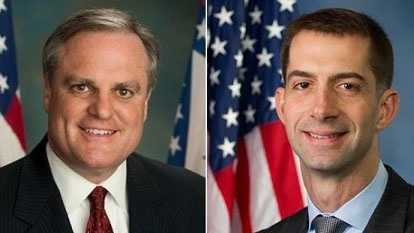 Sen. Mark Pryor (D) and Rep. Tom Cotton (R)