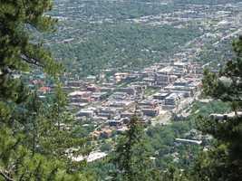1. Boulder, CO (University of Colorado)