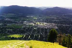7. Missoula, MT (University of Montana)