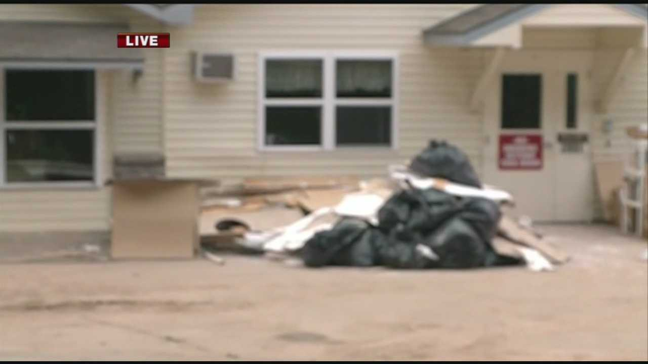 The Arkansas Department of Human Services are investigating an assisted care facility that flooded in Johnson.