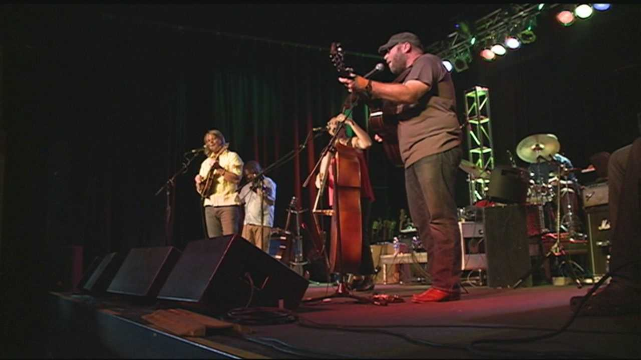 Bands from all over the country were in our area to participate in Fayetteville's Roots Festival.