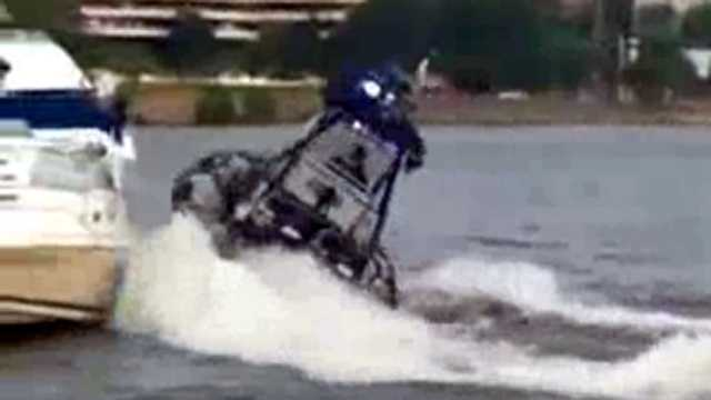 Police boat accident