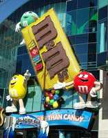 The name, M&M's, is an abbreviation for the creators... Forrest Mars and Bruce Murrie