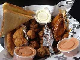 Slim Chicken's is a popular spot in Northwest Arkansas!