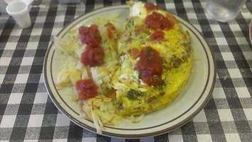 This is the Sunset Omlet at Sunset Grill in Springdale.