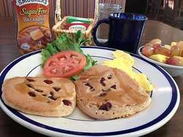 If you're trying to stay in shape, you can try this Be Fit Breakfast at Bob Evans in Rogers.