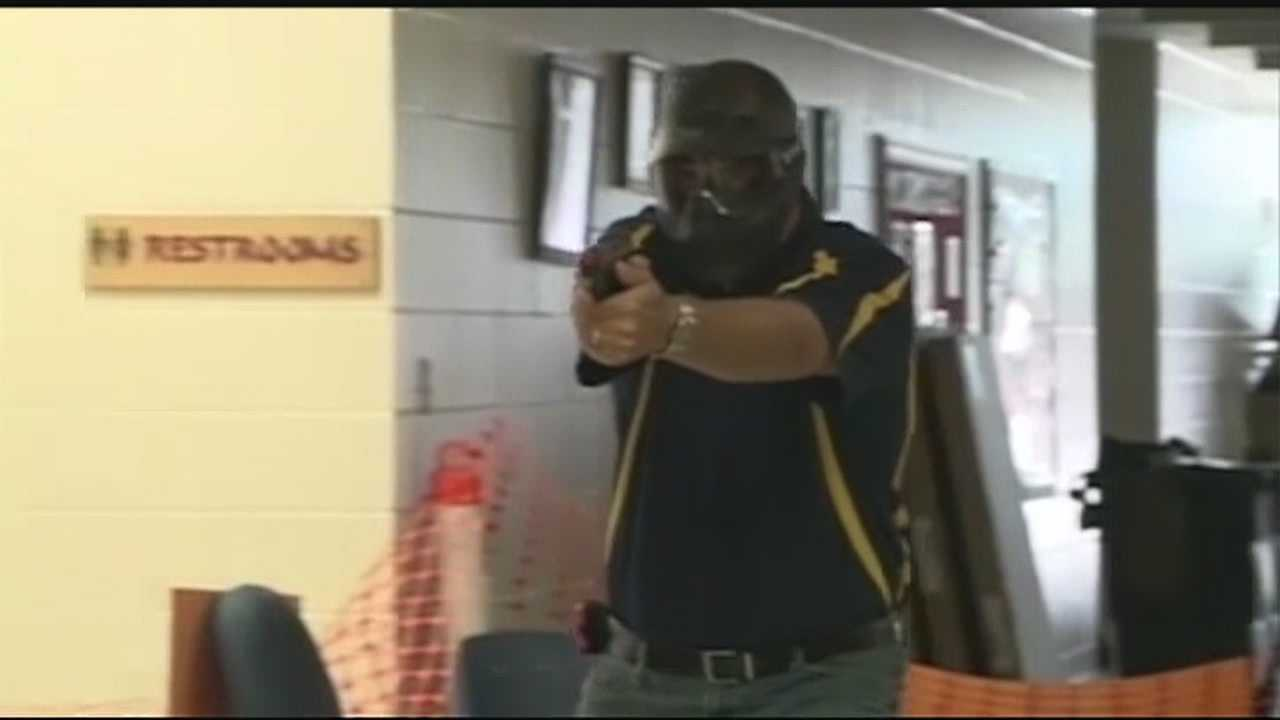 The Clarksville Schools superintendent says trained teachers will start carrying guns, after a state board gave the green light for guns on campus.