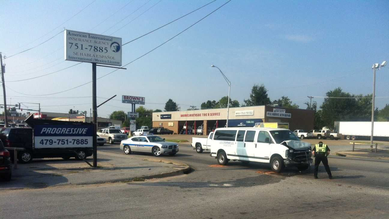 Police: Car hits person at intersection
