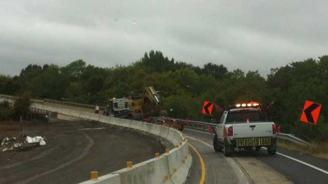 Oversized Load Truck causing delays
