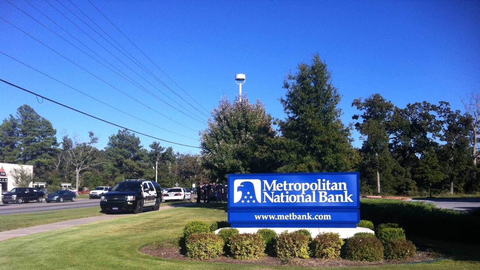 Fayetteville Bank Robbery