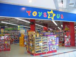 "5 p.m.Thanksgiving Day - Toys ""R"" Us"