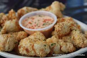 Firecracker Shrimp at Café Rue Orleans in Fayetteville