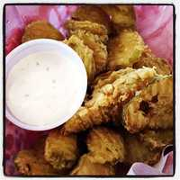 Fried Pickles at Ed Walkers in Fort Smith