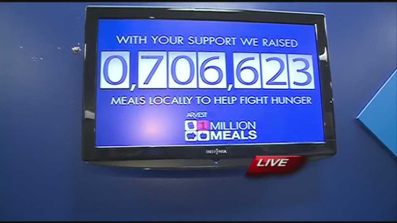 Million Meals campaign reveal