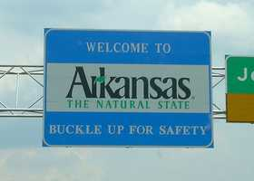 "Where does the name ""Arkansas"" come from?"