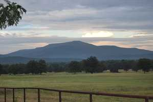 Mount Magazine in Logan County is 2,753 feet tall.
