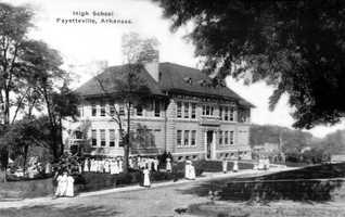 Fayetteville High in 1928.