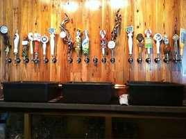 Legal beer on tap at Tanglewood.