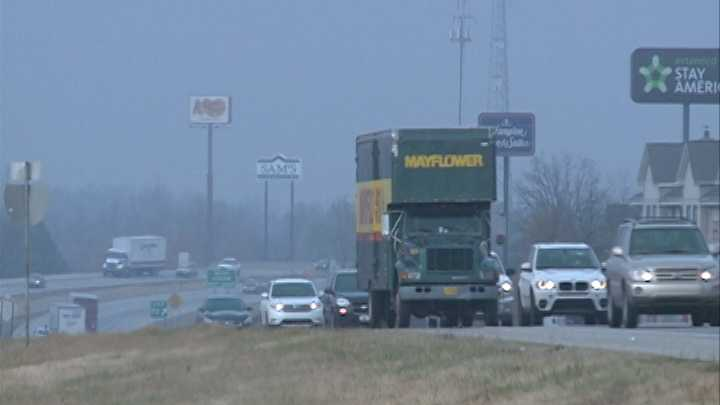 Police warn drivers to stay home if roads get icy