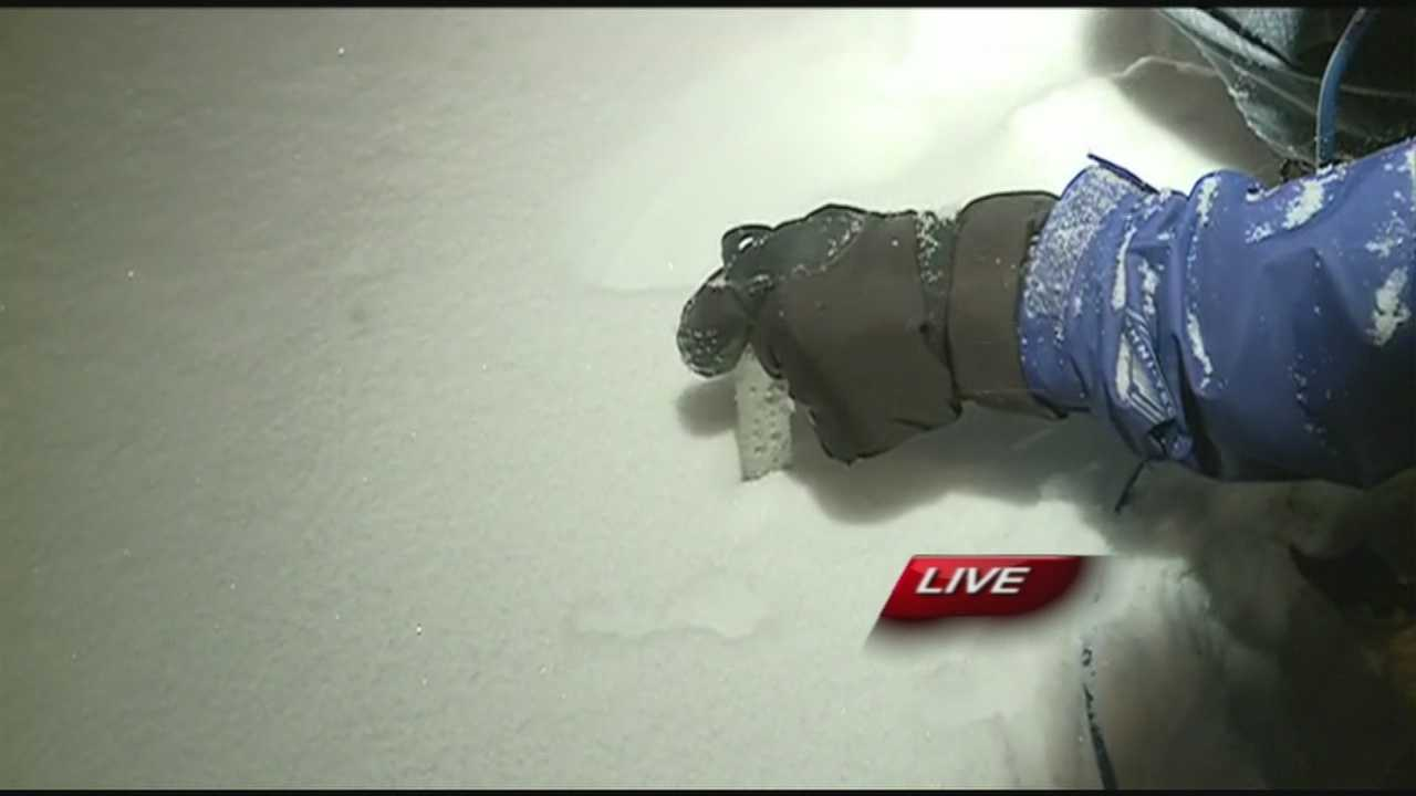 Meteorologist Brad Carl is tracking the snow as it continues to rise in Bella Vista