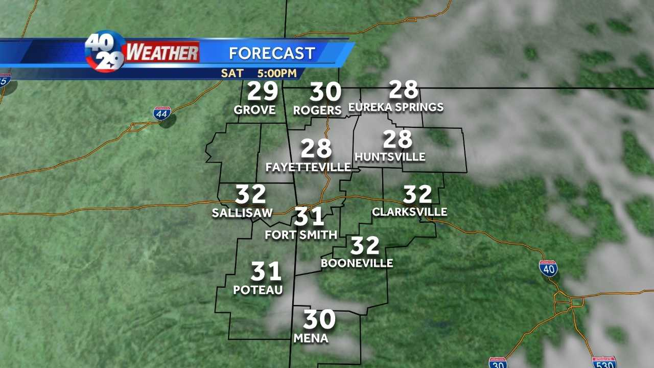Chilly to start the weekend, but a warmer finish coming our way