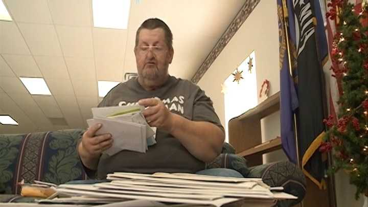'Christmas Card Man' sends fewer holiday cards due to health