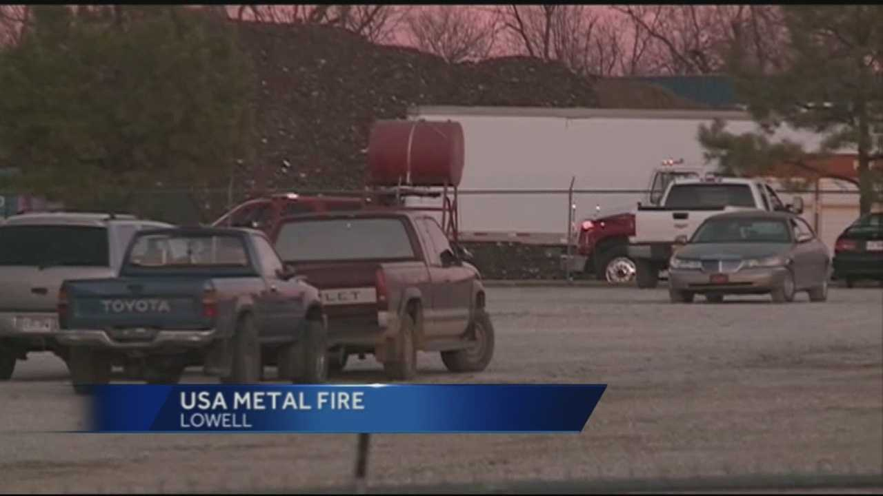 Thursday, fire crews rushed to USA Metal in Lowell. But the business has seen a number of complaints from neighbors in the past. Some neighbors moved away before this recent incident.
