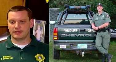 Two Scott County officers were remembered by their communities for their heroism and dedication. Arkansas Game and Fish Officer Joel Campora and Scott County Sheriff Cody Carpenter died in June while trying to save two women trapped their home by rising flood waters. The men were found near Y City after flash floods and heavy rains caused the Fourche La Farve River to rise sharply