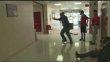 The Superintendent of Clarksville public schools, David Hopkins, sparked a state-wide debate on whether teachers can carry guns schools. Teachers and employees went through active shooter training and applied for conceal carry permits. For more on the timeline, click here.
