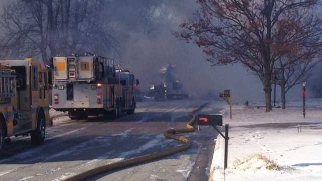 Springdale House Fire Monday