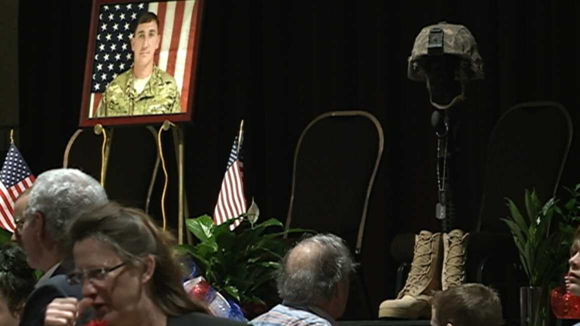 Community remembers fallen soldier