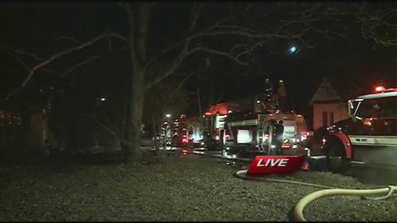 A Fire in Alma Leaves One Family Homeless